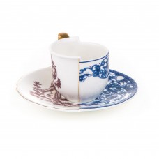 'HYBRID-EUFEMIA' COFFÈ CUP WITH SAUCER IN PORCELAIN