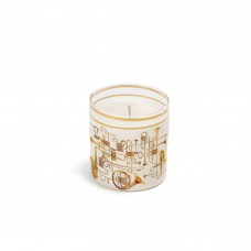 CANDLE IN GLASS JAR 'TOILETPAPER LOVES SELETTI' - TRUMPETS