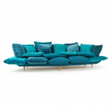 SOFA 'COMFY' Cm.301 h.96 - TURQUOISE
