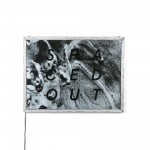 POSTER FOR PET WITH FRAME 'FRAME IT!' Cm.80x60-'SPACEDOUT' Cm.57,5x77,5
