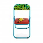 'STUDIO JOB-BLOW' METAL FOLDING CHAIR Cm.44 h. 47/80 - FLASH NEW