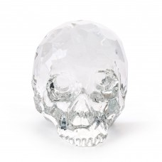 'THE HAMLET DILEMMA' CRYSTAL SKULL Cm. 13 x 19,5 h. 12