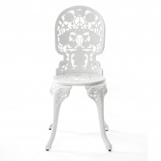 ALUMINIUM CHAIR 'INDUSTRY COLLECTION' Cm.40x40 h.45/92 WHITE