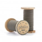 'PHILO' WIRE IN ROLL Mt.5 COATED COTTON - GREY