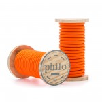 'PHILO' WIRE IN ROLL Mt.5 COATED COTTON - ORANGE