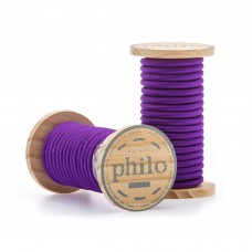 'PHILO' WIRE IN ROLL Mt.5 COATED COTTON - VIOLET