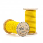 'PHILO' WIRE IN ROLL Mt.5 COATED COTTON - YELLOW