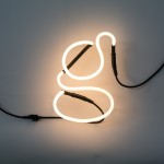 'NEON FONT' NEON LAMP SHAPED Cm.18 h. 23 - g