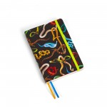 NOTEBOOK 'TOILETPAPER' Cm.10,5x15 REGULAR - SNAKES