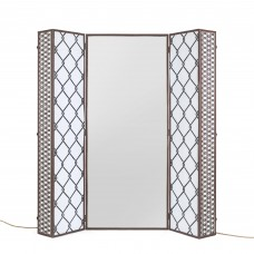 TRUNK WITH MIRROR AND LIGHTING LED 'LIGHT TRUNK' Cm.74x40 h.175