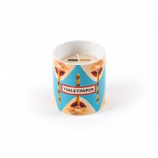 CANDLE IN JAR OF PORCELAIN 'TP-DRILL' - ESSENCE HEAVY METAL