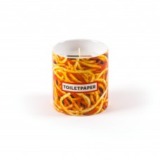 CANDLE IN JAR OF PORCELAIN 'TP-SPAGHETTI' - ESSENCE ENTROPY
