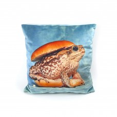 POLYESTER CUSHION 'TOILETPAPER' Cm.50x50 - TOAD