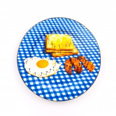 'TOILETPAPER-NEW' PORCELAIN DINNER PLATE ø Cm.27 - BREAKFAST