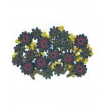 'FLORIGRAPHIE-PASSIFLORA' STRAW TABLE MAT Cm. 56x36