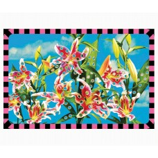 'TOILETPAPER' AMERICAN TABLECOTH IN PP+EVA Cm.45x30 - FLOWER