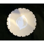 PORCELAIN SOUP PLATE 'MACHINE COLLECTION' ø Cm.23,2 h.4-Design:3