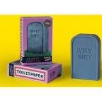 'TOILETPAPER-WHY ME??'  SOAP Cm. 6,9x2,7 h.10,9