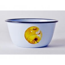 'TOILETPAPER' BOWL METAL ENAMELED ø Cm.17 h.8 - APPLE